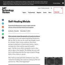 Self-Healing Metals