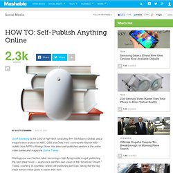 HOW TO: Self-Publish Anything Online