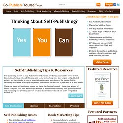 Go Publish Yourself