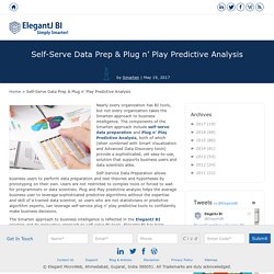 Self-Serve Data Prep & Plug n' Play Predictive Analysis