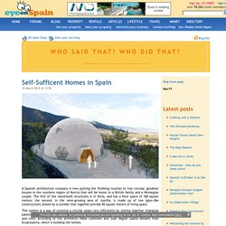 Self-Sufficent Homes in Spain