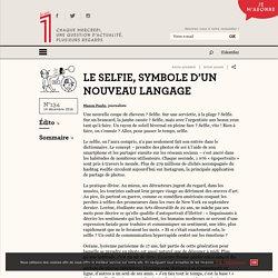 Le selfie, symbole d'un nouveau langage