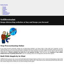 SelfRestraint