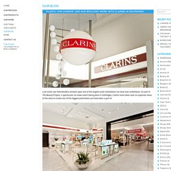 'PLANTS. OUR SCIENCE' AND OUR BRILLIANT WORK WITH CLARINS IN SELFRIDGES - Sheridan&CoSheridan&Co