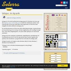 Selingua - gratis språkutbildningsprogram