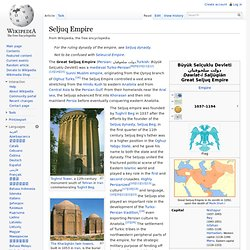Great Seljuq Empire