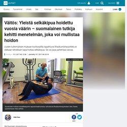 Väitös: Yleistä selkäkipua hoidettu vuosia väärin – suomalainen tutkija kehitti menetelmän, joka voi mullistaa hoidon