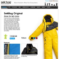 SelkBag — the Sleeping Bag with Arms and Legs