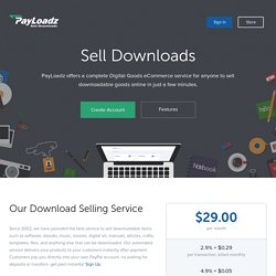 Cerizmo - Sell Downloads Online, Sell Files Online