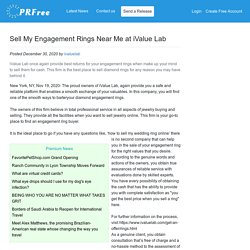 Sell My Engagement Rings Near Me at iValue Lab