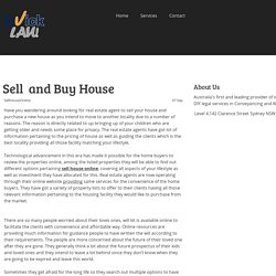 Sell and Buy House