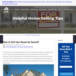 How to Sell Your House by Yourself - Pro Tips Revealed