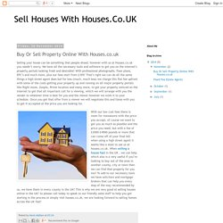 Buy Or Sell Property Online With Houses.co.uk