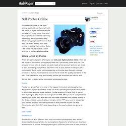 Sell Photos