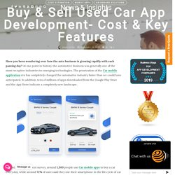 Buy & Sell Used Car App Development- Cost & Key Features