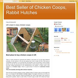 Things to consider when looking for customized chicken coops
