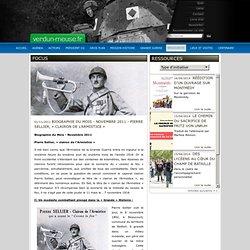 Pierre Sellier, «clairon de l'Armistice»