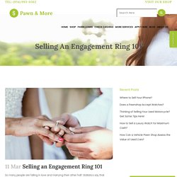 Selling an Engagement Ring 101