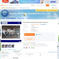 Direct selling Full automation wood pellet making line, View wood pellet making machine line, LYWF Product Details from Liyang Weifeng Equipment Co., Ltd. on Alibaba.com
