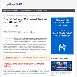 ▶ Social Selling : Comment Trouver des Clients [Infographie]