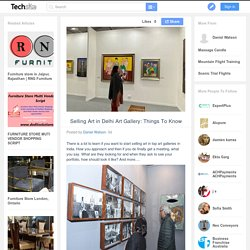 Selling Art in Delhi Art Gallery: Things To Know