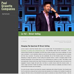 Le-Vel – Direct Selling
