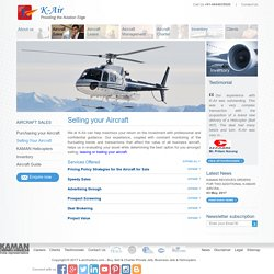 Selling New, Used Helicopters, Aircrafts India