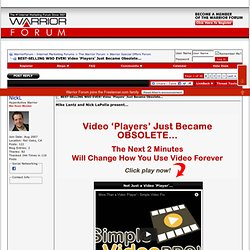 BEST-SELLING WSO EVER! Video 'Players' Just Became Obsolete...