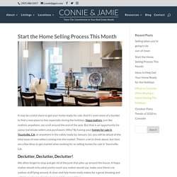 Start the Home Selling Process This Month