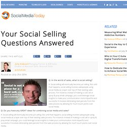 Your Social Selling Questions Answered