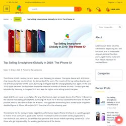 Top Selling Smartphone Globally In 2019: The iPhone Xr
