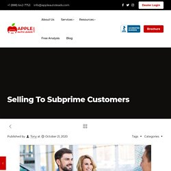 Selling To Subprime Customers
