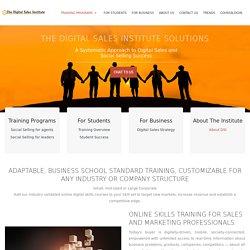 » Social Selling Training Programs