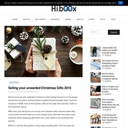 Selling your unwanted Christmas Gifts 2019 - Hi Boox