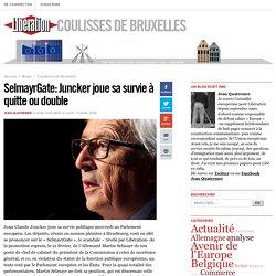 SelmayrGate: Juncker joue sa survie à quitte ou double