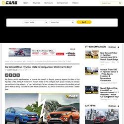 Kia Seltos HTK vs Hyundai Creta E+ Comparison: Which Car To Buy?
