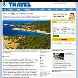 Porto Selvaggio, Italy: Secret Seaside