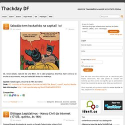 Sem categoria » Thackday DF