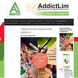 Semaine des Addictions - Site d'addictlim