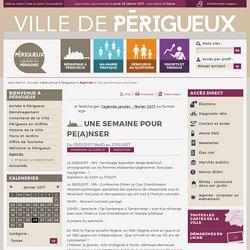 Une semaine pour pe(a)nser - Agenda - Ville de Périgueux