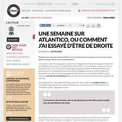 Une semaine sur Atlantico, ou comment j'ai essayé d'être de droite » Article » OWNI, Digital Journalism