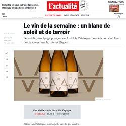 Le vin de la semaine : un blanc de soleil et de terroir