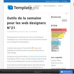 Outils de la semaine pour les web designers N°21 > Template.pro