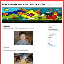 École maternelle Jean Yole – La Roche sur Yon