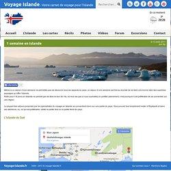 1 semaine en Islande : Article Islande - Voyage-Islande.fr