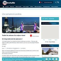 Une semaine à Londres – Eurotunnel Le Shuttle