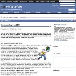 Semaine de la presse 2012