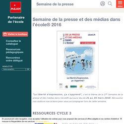 Semaine de la presse et des médias dans l'école® 2016 - Milan écoles