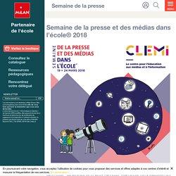 Semaine de la presse et des médias dans l'école® 2018 - Milan écoles