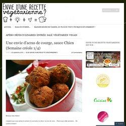 Une envie d'acras de courge, sauce Chien (Semaine créole 1/4)